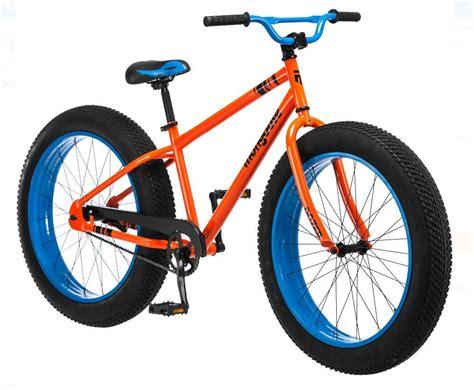 Mongoose Bike 26 Inch Fat Tire Dozer Men Bicycle All