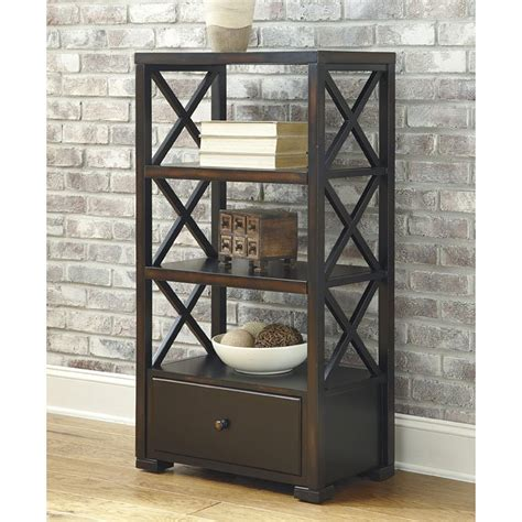 Small Rustic Bookcase by Rustic Accents Small Bookcase Rubbed Black By Signature