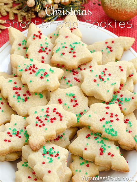 shortbread cookies recipe from yummiest food cookbook