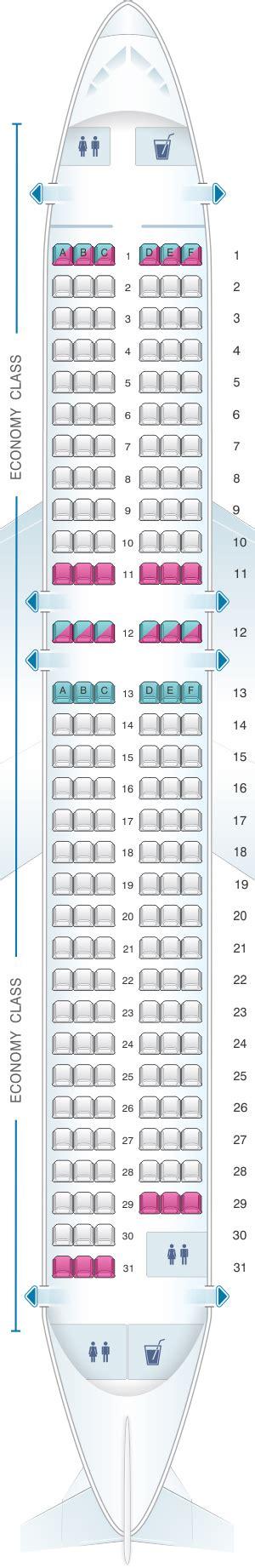 easyjet siege seat map easyjet airbus a320 seatmaestro