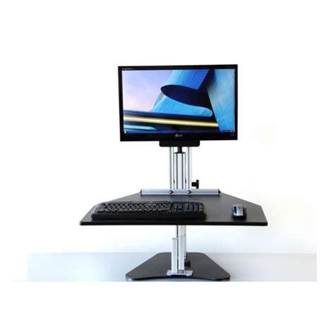 kangaroo standing desk dual monitor kangaroo pro sit stand workstation ergonomics now