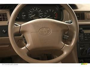 2000 Toyota Camry Ce Oak Steering Wheel Photo  52191979