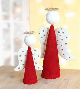 Engel Aus Holz Selber Machen : bastelanleitung weihnachtsengel aus styropor und gips ~ Lizthompson.info Haus und Dekorationen