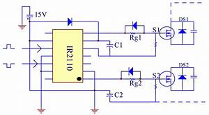 Ir2110 Mosfet Driver Circuit Diagram - neonresults