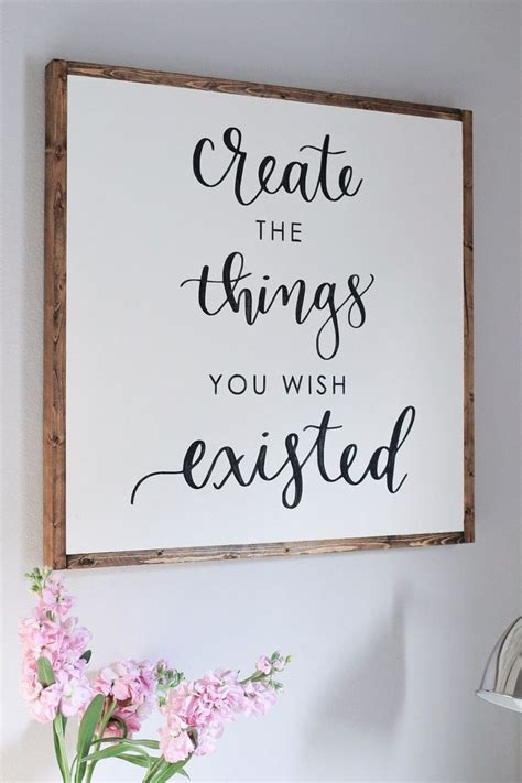 diy wood sign  calligraphy quote projects  billy