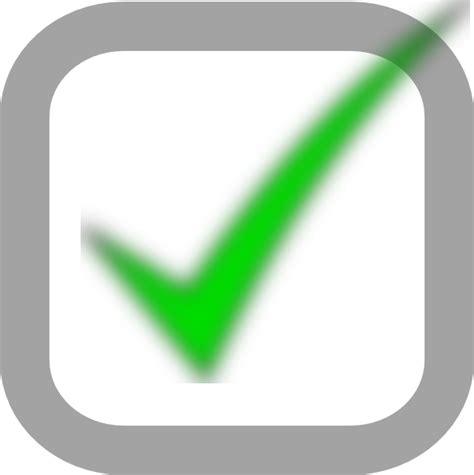 small checked checkbox clip art at clker com vector clip