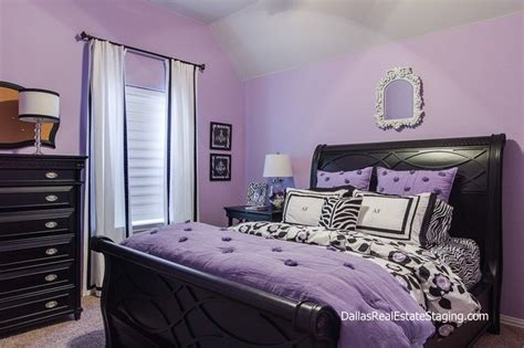 purple and black bedrooms lavendar bedrooms lavender bedroom teen room decked out 16810 | 06c12d96a011a6baa868440bc5c80b23