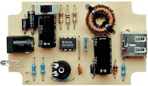 mobile phone  ipod battery charger circuit circuit diagram