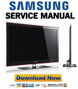 Samsung Ue40b8000 Ue46b8000 Service Manual  U0026 Repair Guide