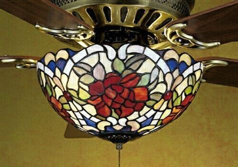 compare price stained glass ceiling fan