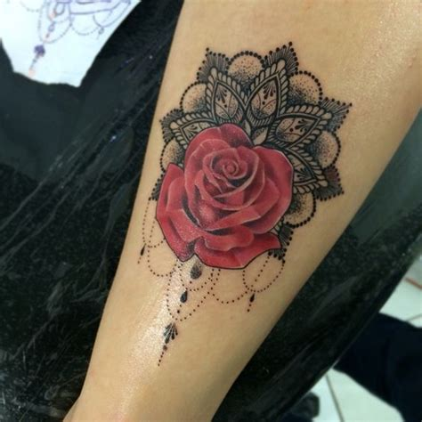 tattoo rose mandala tattoo  work pinterest tattoo