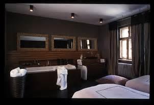 chambre ouverte sur salle de bain décoration salle de bain ouverte sur chambre