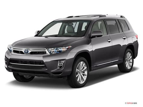 toyota highlander 2012 specs 2012 toyota highlander hybrid prices reviews and pictures