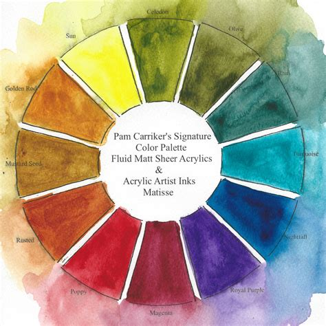 187 color wheel art at the speed of life