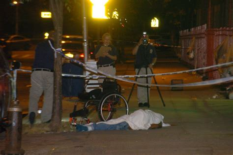 man  wheelchair shot dead   bronx   killed