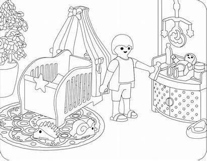 Playmobil Ausmalbilder Kinderzimmer Malvorlagen Kostenlos Coloring Ausmalen