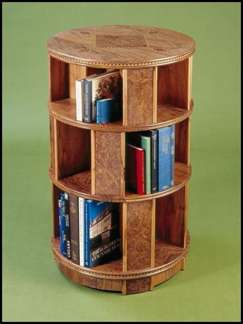 How To Build A Revolving Bookcase by Martin