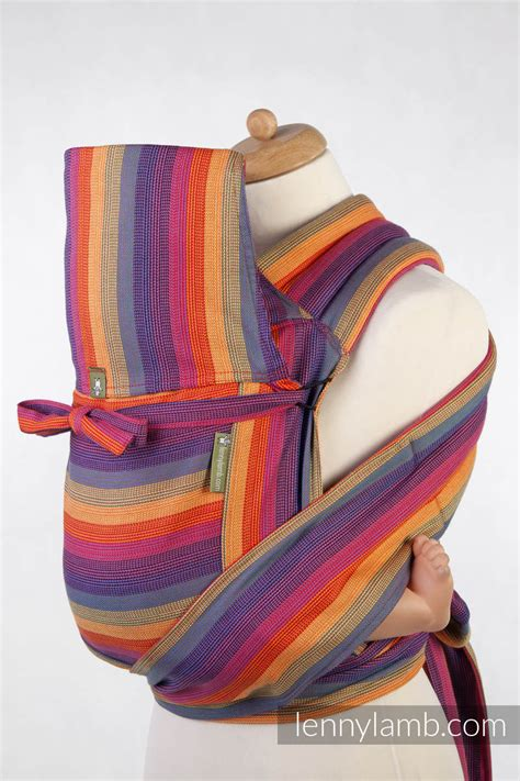 Mei Tai carrier Toddler / broken twill / bamboo and cotton ...
