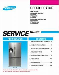 Samsung Rf 267 Ab Refrigerator Service Manual