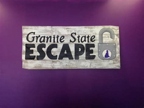 granite state escape in manchester nh