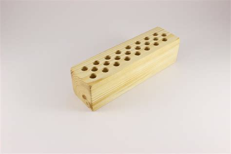 Holder With Holes by Handmade Pencil Holder Pencil Holder With 24 Holes