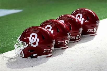 Oklahoma Sooners Football Sports College State Helmets