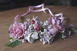 diy jolies couronnes de fleurs pour petite fille d With affiche chambre bébé avec mariée couronne de fleurs