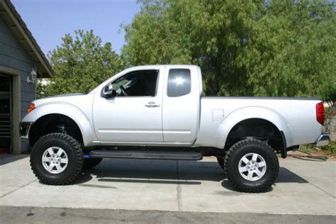 lifted silver nissan frontier suspension lifts for 05 nissan frontier forum