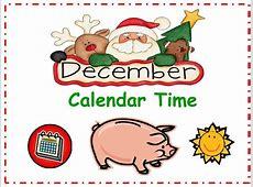 A Teacher's Touch December Calendar