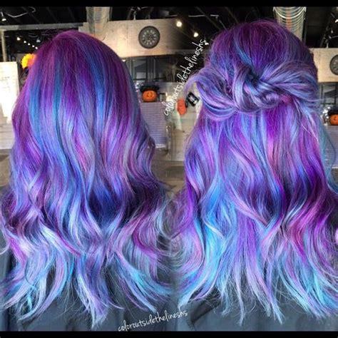formula neon peacock hair color modern salon