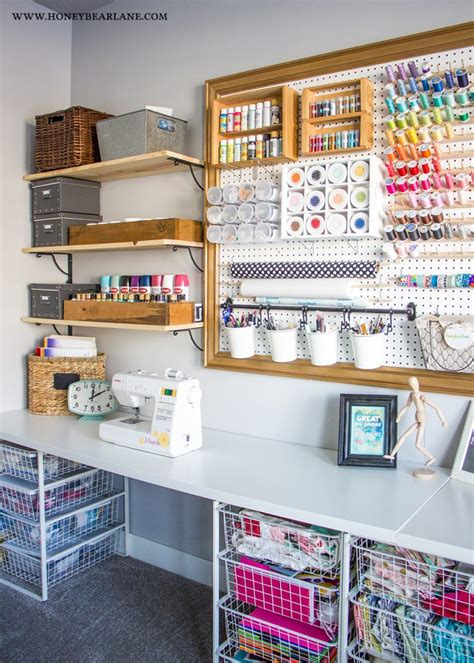 Craft Room Makeover  Honeybear Lane