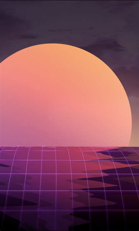 vapor wave sunset hd  wallpaper