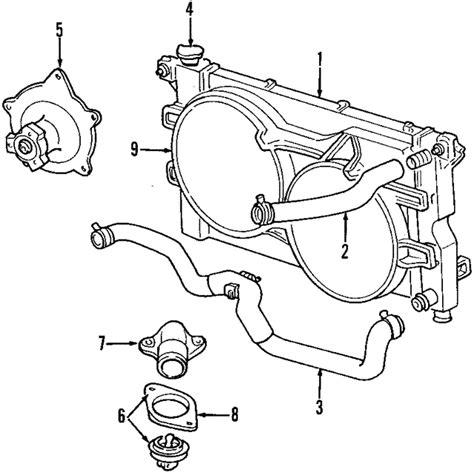 Diagram Of 3 8 Chrysler Engine Coolant by Water Mopar 68382491aa Mopar America