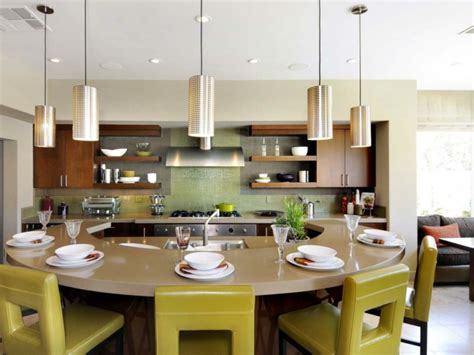 plan de travail central cuisine ikea la cuisine arrondie dans 41 photos pleines d 39 idées