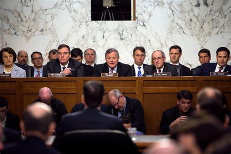 members   senate intelligence committee