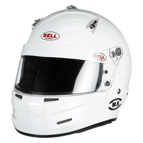 bell helmets   racing helmet white xs  size