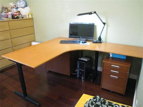 Ikea L Shaped Desk by Designing L Shaped Desk Ikea Best Home Office Remodelling