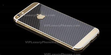Iphone 6s Plus Carbon 24k Gold Cover Case & Housing