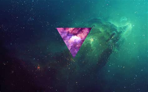 Green and purple galaxy digital wallpaper HD wallpaper ...