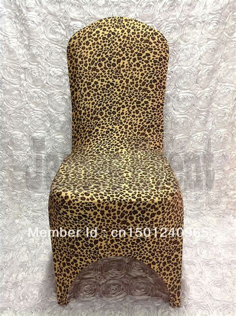 shop popular leopard print chair cover from china aliexpress