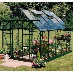 Serre Acier Verre : serre de jardin magnum en aluminium et verre tremp ~ Premium-room.com Idées de Décoration