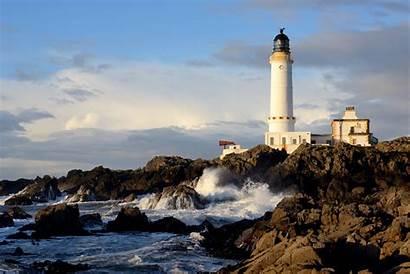 Lighthouse Scotland Desktop Wallpapers Corsewall Sky Rock