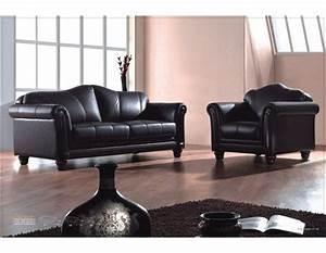 Schwarz Braune Möbel : leder sofas mit federkern modell 278 3 1 mapo m bel ~ Michelbontemps.com Haus und Dekorationen
