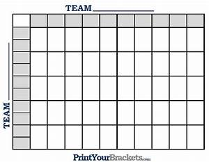 nfl print 50 square football grid With free football square template