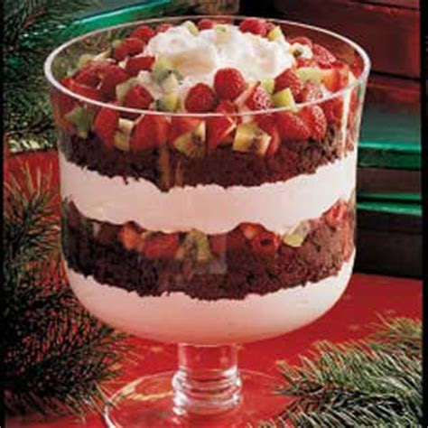 chocolate and fruit trifle recipe taste of home