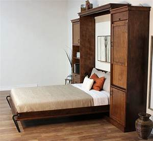 Keystone, Murphy, Wall, Bed, In, Caramel, Finish