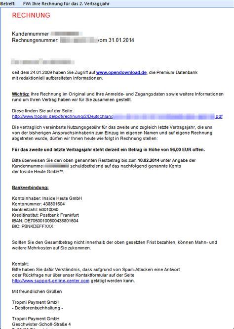 mail von opendownload bzw von der tropmi payment gmbh