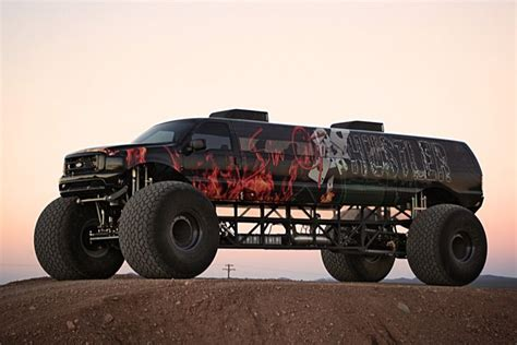monster trucks trucks for got 1 million to spend this limousine monster truck