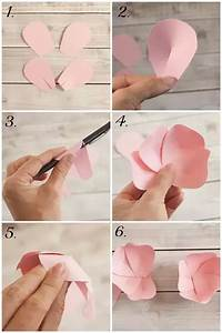 What are some creative ways to make paper flowers step by ...