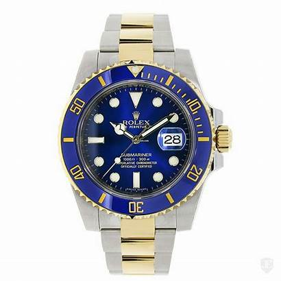 Rolex Submariner Watches Steel Ceramic 18k Transparent